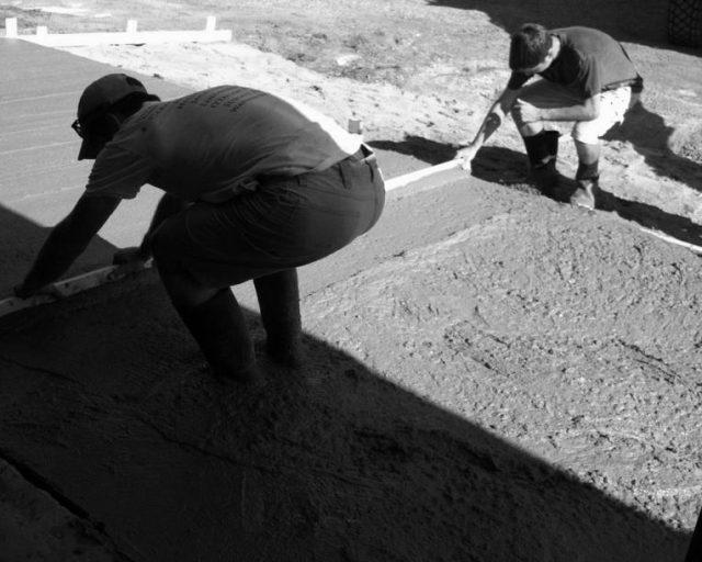 4th generation pouring concrete
